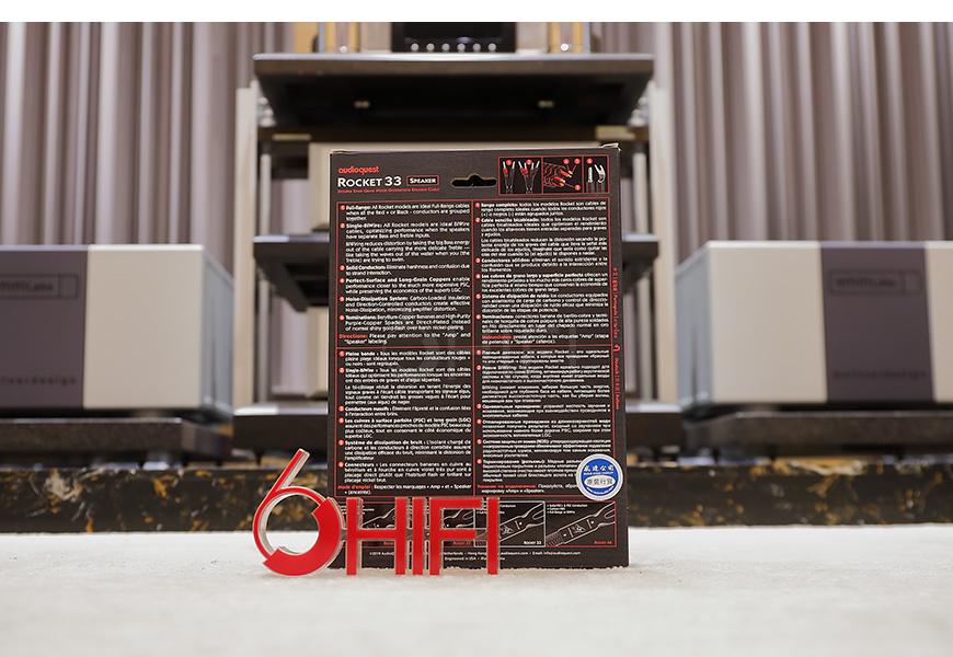 美国 AQ 线圣 AudioQuest ROCKET火箭系列 33 音箱线,线圣 ROCKET火箭系列 33 音箱线,美国 AudioQuest ROCKET 33,美国 AQ