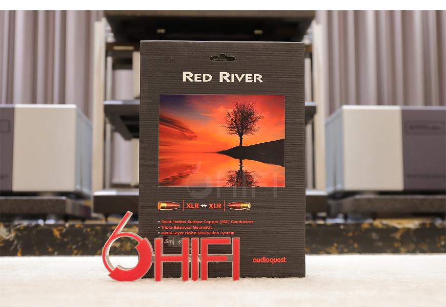 美国 线圣 AudioQuest Red River 红河 XLR平衡信号线,线圣 Red River 红河 XLR平衡信号线,美国 AudioQuest Red River XLR,美国 线圣