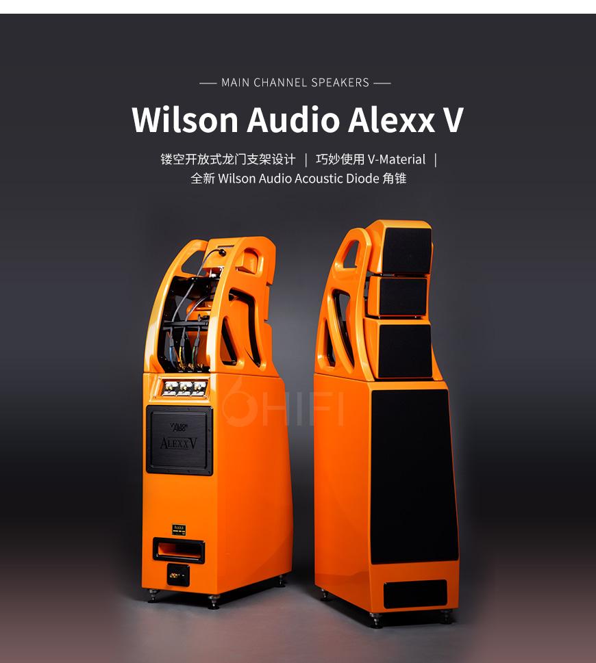 美国 威信 Wilson Audio Alexx V 落地箱,威信 Alexx V 落地箱,美国 Wilson Audio Alexx V,美国 威信