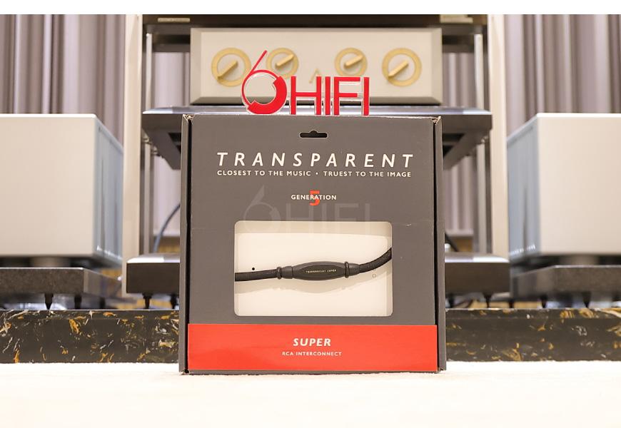 天仙配RCA信号线,Transparent Super RCA,天仙配MM2信号线
